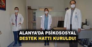 Alanya'da Psikososyal destek hattı kuruldu