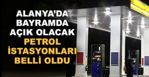 Alanya'da açık olacak petroller belli oldu