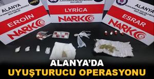 Alanya'da uyuşturucu operasyonu: 11 gözaltı