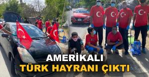 Amerikalı Türk hayranı çıktı