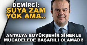 Demirci: Büyükşehir sinekle mücadeleyi başaramadı