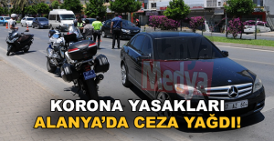 Korona yasakları: Alanyada ceza...