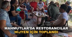 Mahmutlar'da Restorancılar...