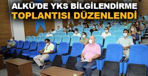 ALKÜ'de YKS bilgilendirme toplantısı düzenlendi
