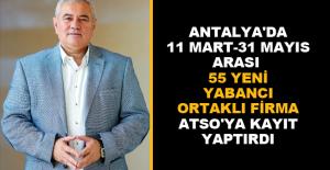 ATSO Başkanı Çetin: Pandemi, yabancı yatırımcıyı durduramadı