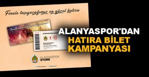 Aytemiz Alanyaspor'dan hatıra bilet kampanyası