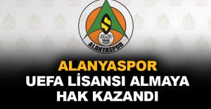 Aytemiz Alanyaspor UEFA lisansı almaya hak kazandı
