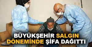 Büyükşehir'den Bin 635 kişiye evde sağlık hizmeti