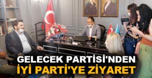 Gelecek Partisi'nden İyi Parti'ye ziyaret