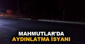Mahmutlar'da aydınlatma isyanı