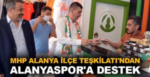 MHP Alanya İlçe Teşkilatı'ndan Alanyaspor'a destek