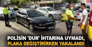 Sanayi sitesinde yakalanan ehliyetsiz sürücüye yaklaşık 9 bin TL ceza uygulandı