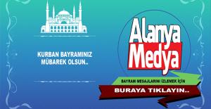 Alanya Medya olarak Kurban Bayramınızı Kutlarız