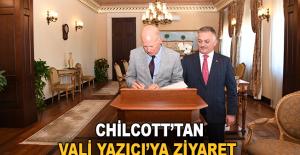 Büyükelçi Chilcott'tan Vali Yazıcı'ya ziyaret