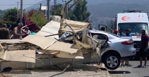 Alanya'da feci kaza