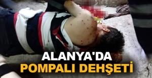 Alanya'da gürültü kavgası kanlı bitti: 1'i çocuk 3 yaralı