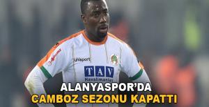 Alanyaspor'da Campos sezonu kapattı