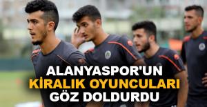 Aytemiz Alanyaspor'un kiralık oyuncuları göz doldurdu