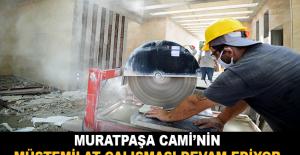 Muratpaşa Cami'nin müştemilat çalışması devam ediyor