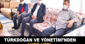 Türkdoğan ve yönetiminden ahde vefa