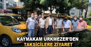 Kaymakam Ürkmezer'den taksicilere...