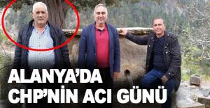 Alanya'da CHP'nin acı günü!