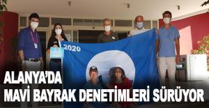 Alanya'da Mavi Bayrak Denetimleri Sürüyor