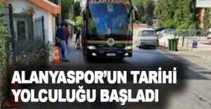 Alanyaspor'un tarihi yolculuğu başladı