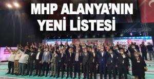 İşte MHP Alanya'nın yeni listesi