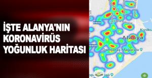 İşte Alanya#039;nın koronavirüs...
