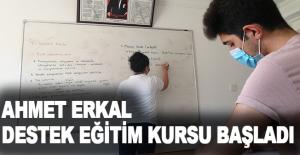 Kemer'de Ahmet Erkal Destek Eğitim Kursu başladı
