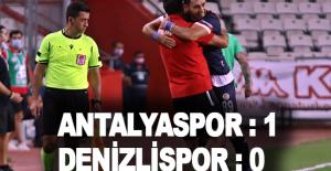 Süper Lig: FT Antalyaspor: 1 - Denizlispor: 0 (Maç sonucu)