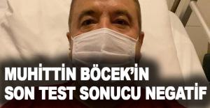 Yoğun bakımdaki Antalya Büyükşehir Belediye Başkanı Muhittin Böcek'in son test sonucu negatif çıktı