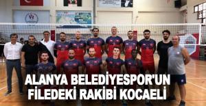 Alanya Belediyespor'un filedeki rakibi Kocaeli