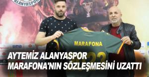 Aytemiz Alanyaspor, Marafona'nın sözleşmesini uzattı