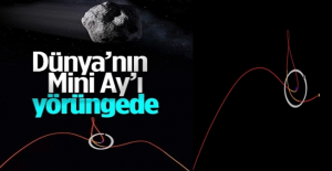 Dünya'nın yeni Mini Ay'ı yörüngeye girdi
