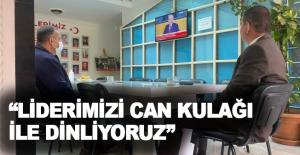 """Türkdoğan: """"Liderimizi can kulağı ile dinliyoruz"""""""