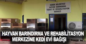 Hayvan Barındırma ve Rehabilitasyon Merkezine...
