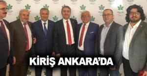Kiriş Ankara'da