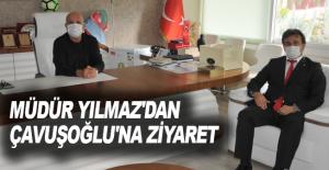 Müdür Yılmaz'dan Çavuşoğlu'na ziyaret