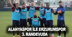 Alanyaspor ile Erzurumspor 3. randevuda
