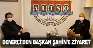 Demirci'den Başkan Şahin'e ziyaret