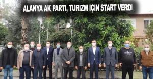 Alanya Ak Parti, turizm için start verdi