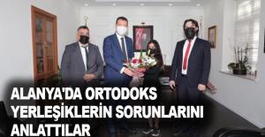Alanya'da Ortodoks yerleşiklerin sorunlarını anlattılar