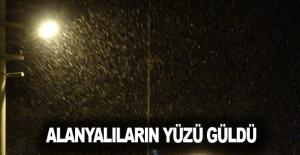 Alanya'da kar sürprizi