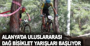 Alanya'da uluslararası dağ bisiklet yarışları başlıyor