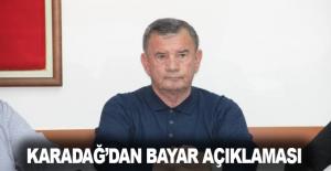 Karadağ'dan Bayar açıklaması