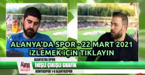 Alanya#39;da Spor - 22 Mart 2021
