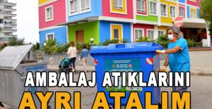 Alanya Belediyesi 'Sıfır Atık' yatırımlarına devam ediyor
