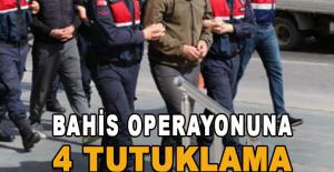 Alanya'da yasa dışı bahis operasyonuna 4 tutuklama